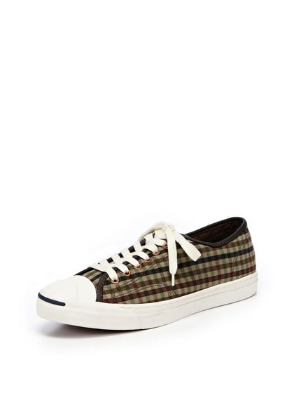 Jack Purcell for Converse Plaid Sneakers