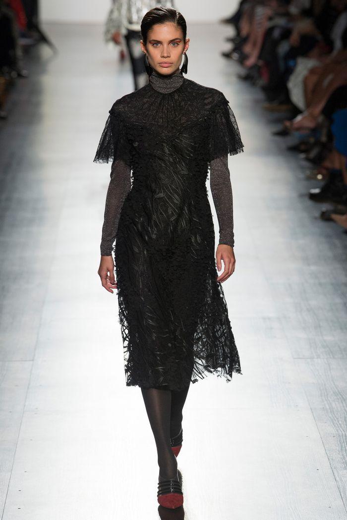 Картинки модных платьев осень-зима