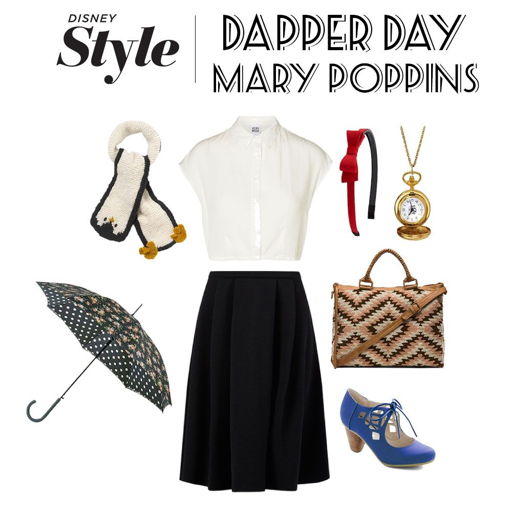 dapper day inspiration elsa and mary poppins  dapper day