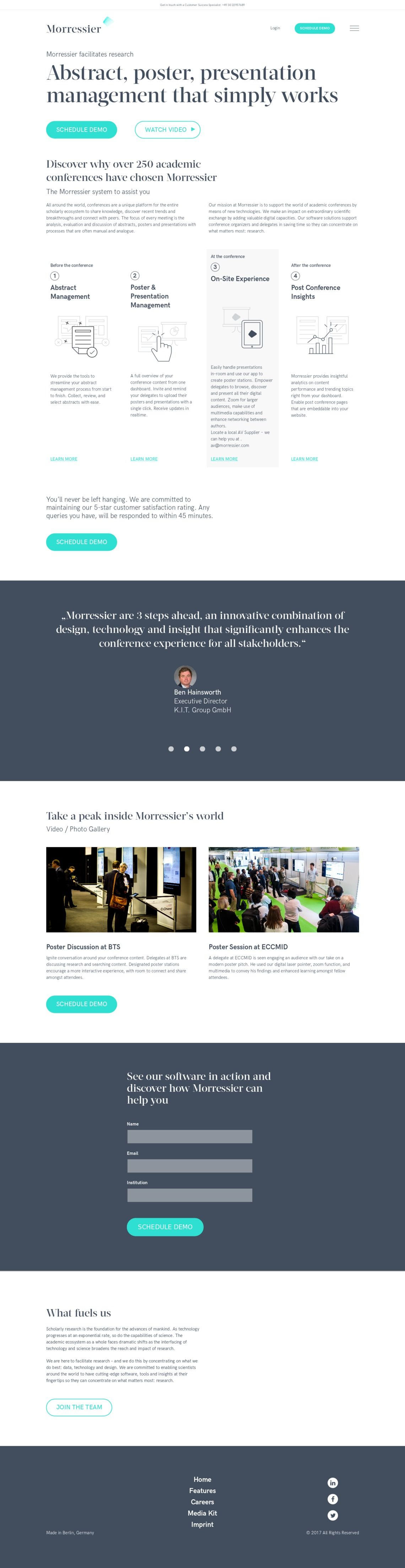 Abstract Poster And Presentation Management For Academic Conferences Presentation Architecture Poster Architecture Presentation