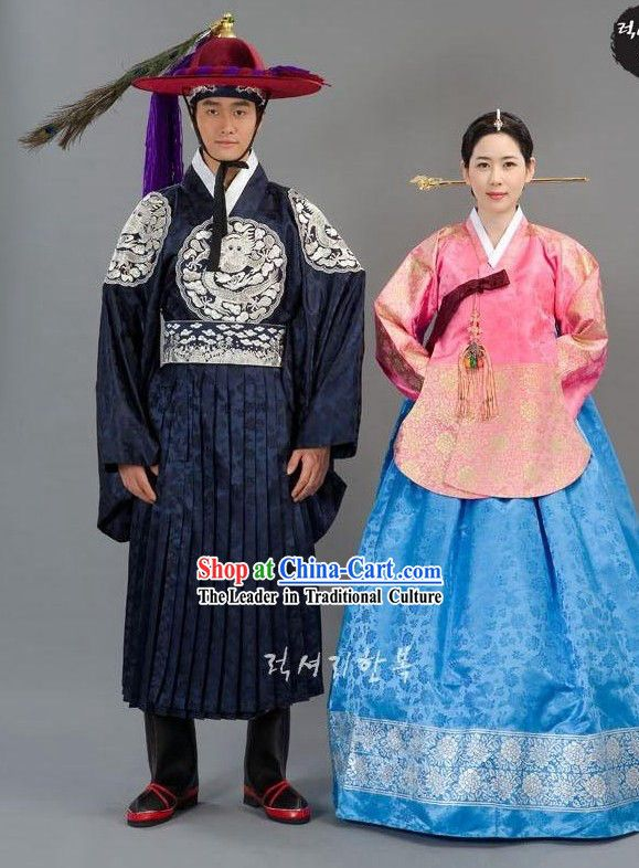 002c86e21 Ancient Korean Wedding Dress for Men and Women | Asian Love | Korean ...