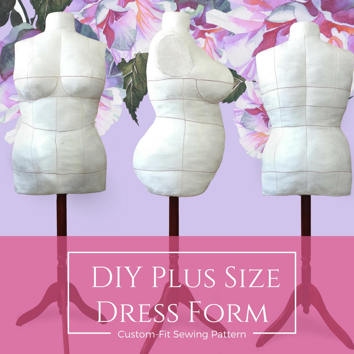 DIY Dress Form Sewing Pattern PDF Designer Sewing Patterns ...
