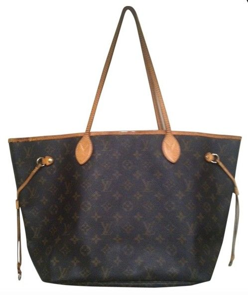 7980b0b19e52 Louis Vuitton Neverfull Mm Sp 0178 Made In France Brown Monogram Tote Bag.  Get one of the hottest styles of the season! The Louis Vuitton Neverfull Mm  Sp ...