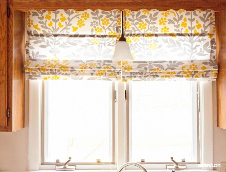 Как сделать римскую штору из жалюзи: инструкция с фото ...