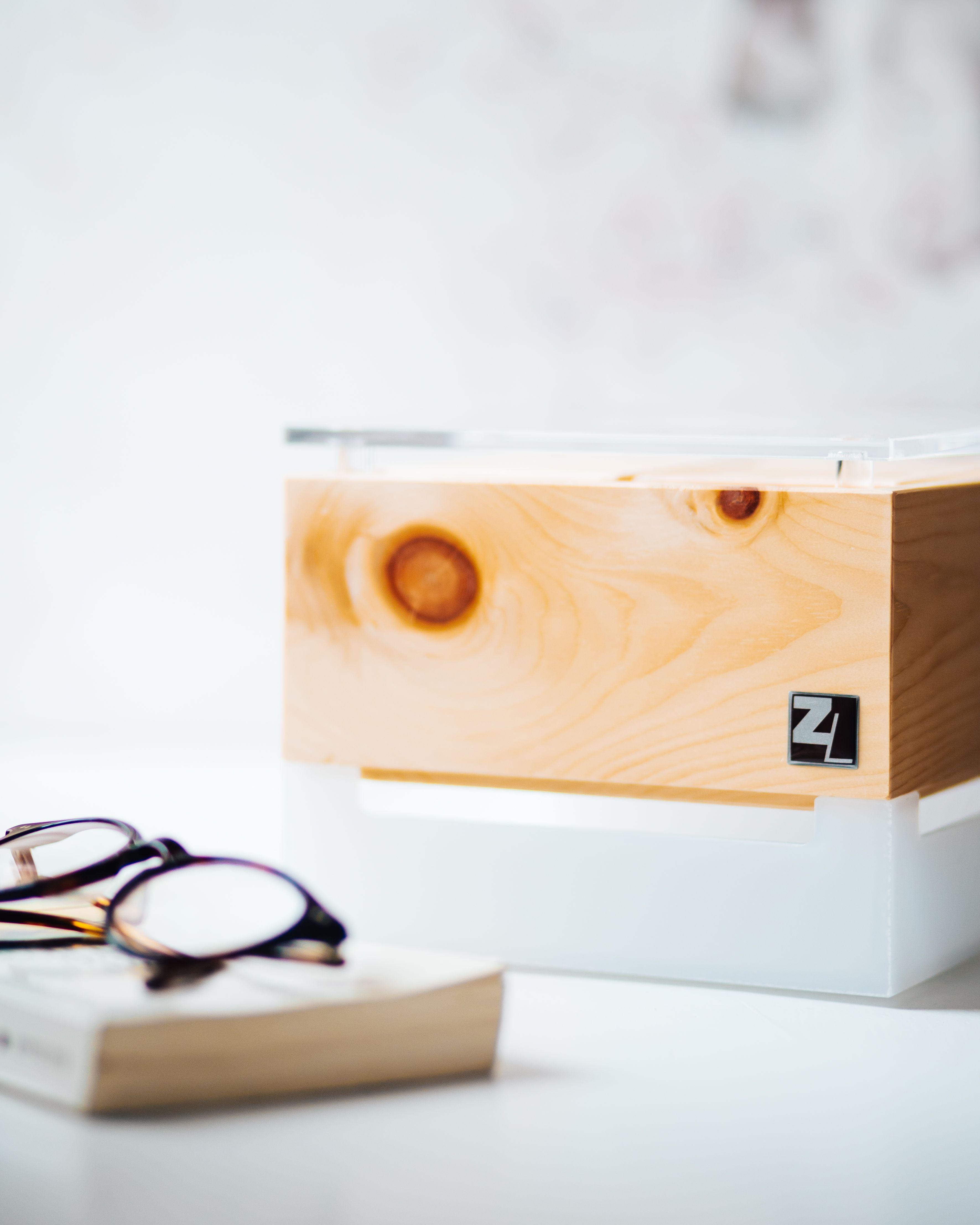 Zirbenlufter Cube Mini Wunderschones Raumklimagerat Aus Massivem Zirbenholz Luftbefeuchter Feiner Beruhigender Duft Der Z Luftreiniger Zirben Luftbefeuchter