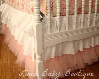 Ombre Crib Skirt Google Search With Images Baby Girl Room Ruffle Crib Skirt Crib Bedding