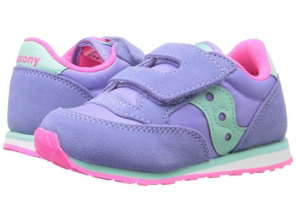 Saucony Jazz Hook & Loop Sneaker | Toddler girl shoes, Baby