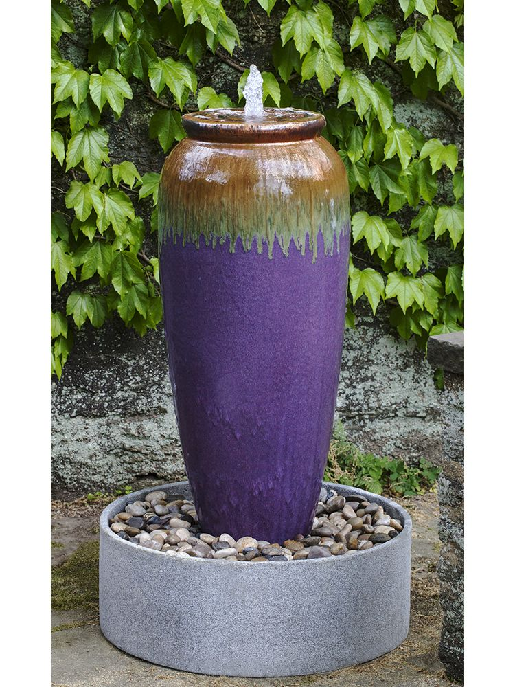 Beau Nico Jar Fountain In Basin   Borealis. Wall FountainsOutdoor FountainsGarden  ...