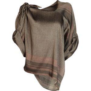Cool satin blouse