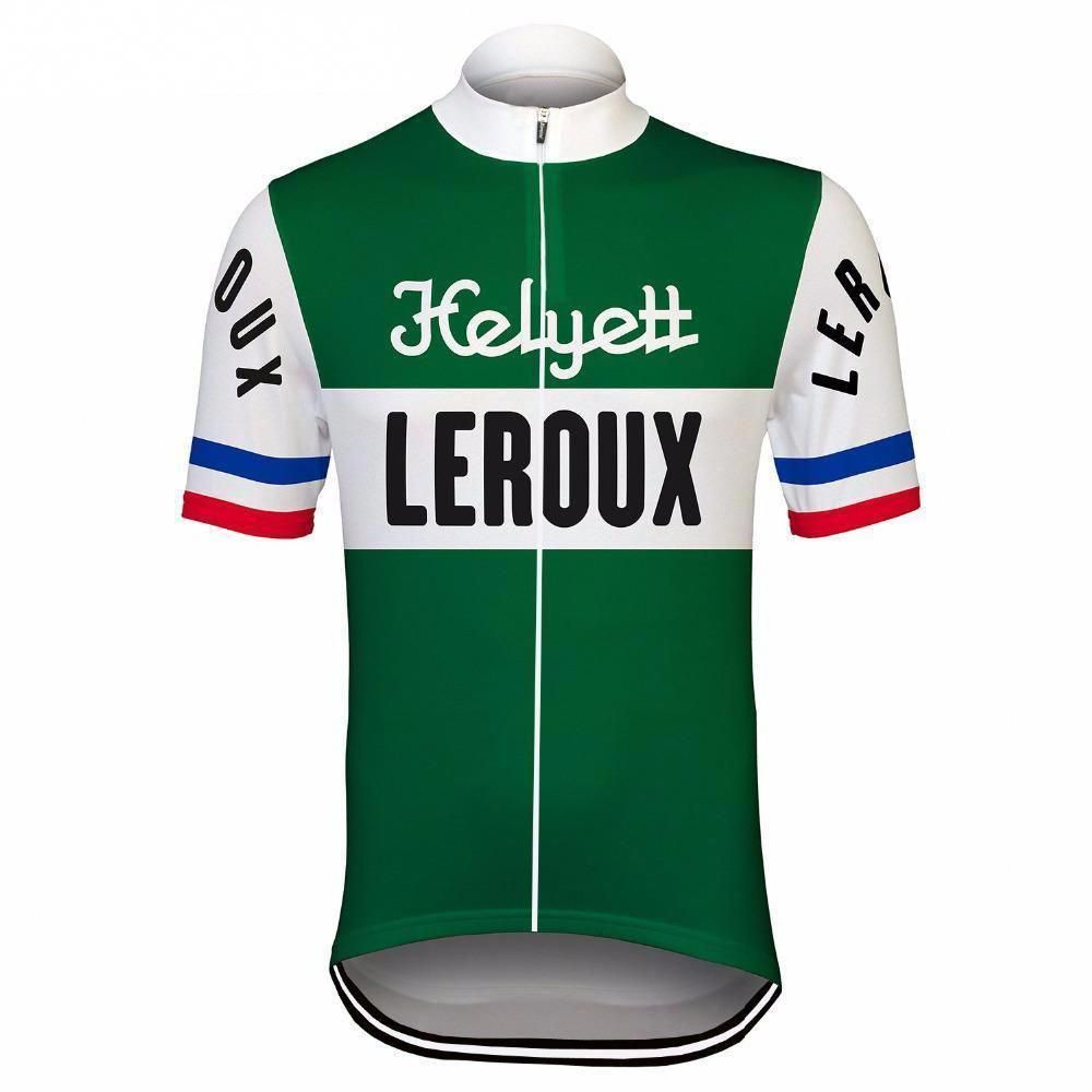 Retro Helyett Leroux Pro Cycling Jersey – Online Cycling Gear – Free Shipping – Lowest Prices!