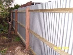 Image Result For Fence Ideas With Metal Roofing Metal Fence Corrugated Metal Fence Backyard Fences