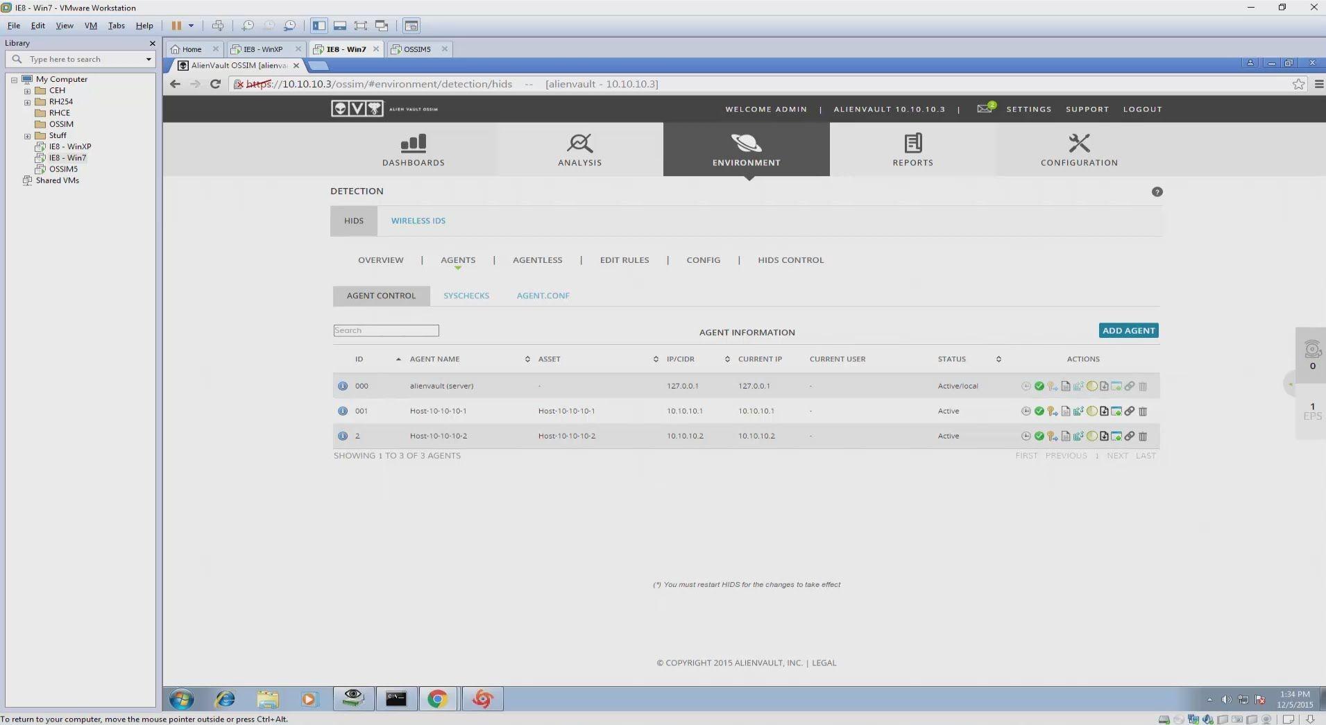 Installing AlienVault OSSIM 5 2 on VMWare and Windows Tutorial