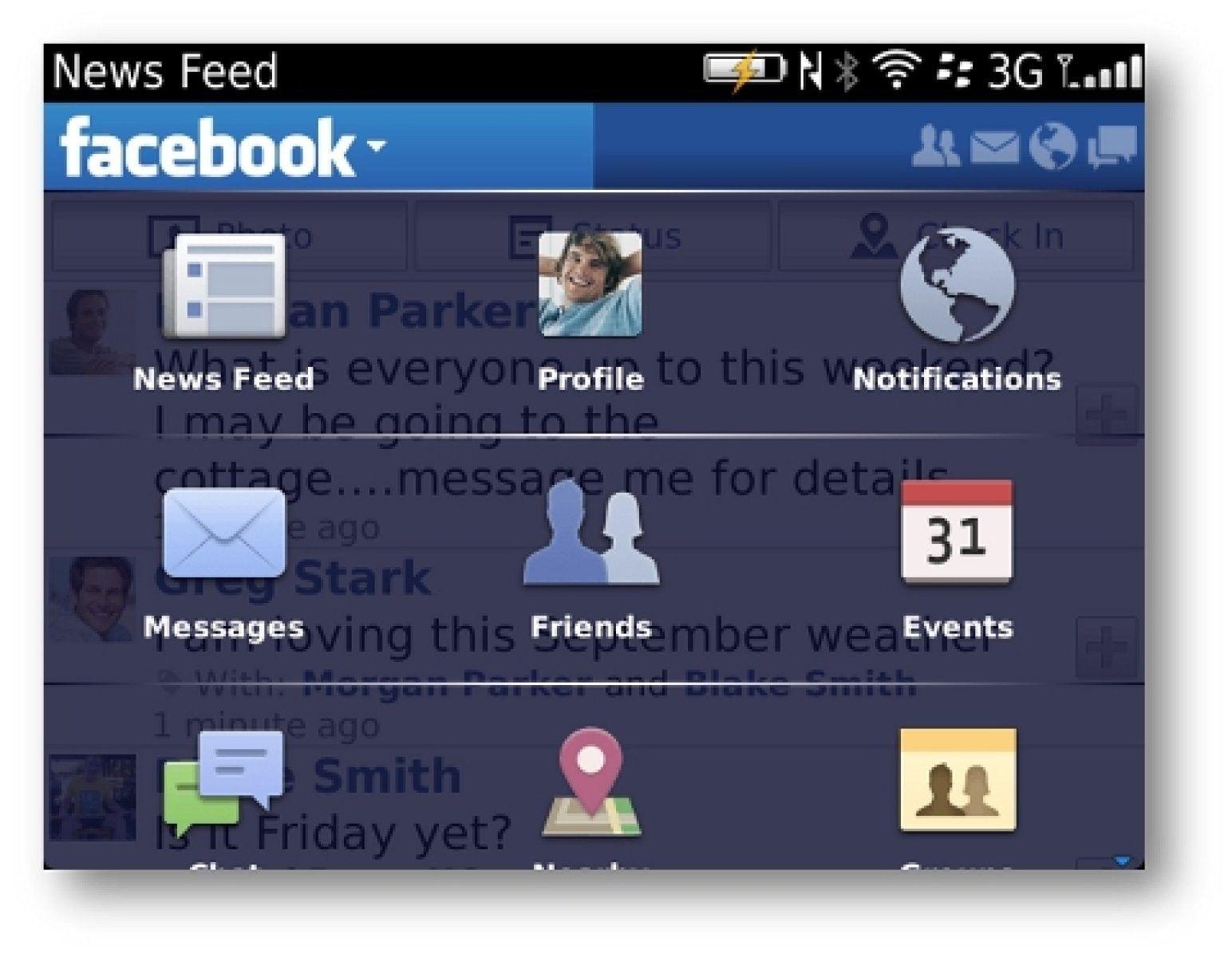 Si tienes una Blackberry estas de enhorabuena, Facebook ha