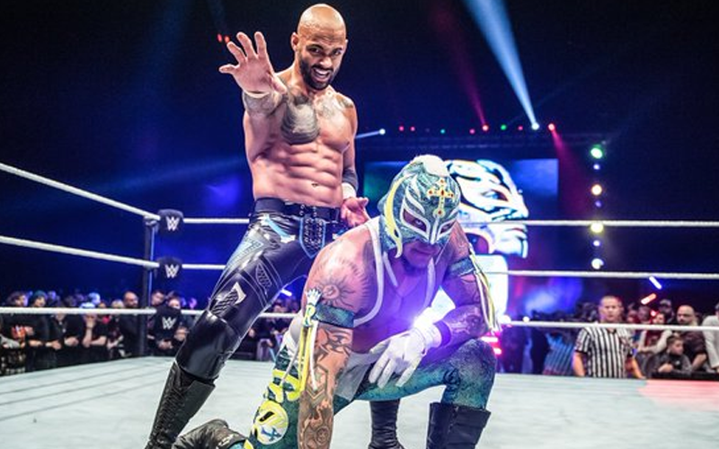 Rey Mysterio Says Ricochet Is The Next Rey Mysterio Black Wrestlers Ricochet Vince Mcmahon