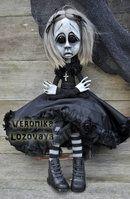 Gothic Art Doll Svetlana by VeronikaLozovaya