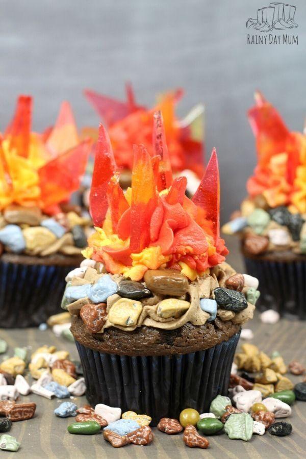 Bonfire Night Cupcakes   Recipe   Chocolate decorations ...