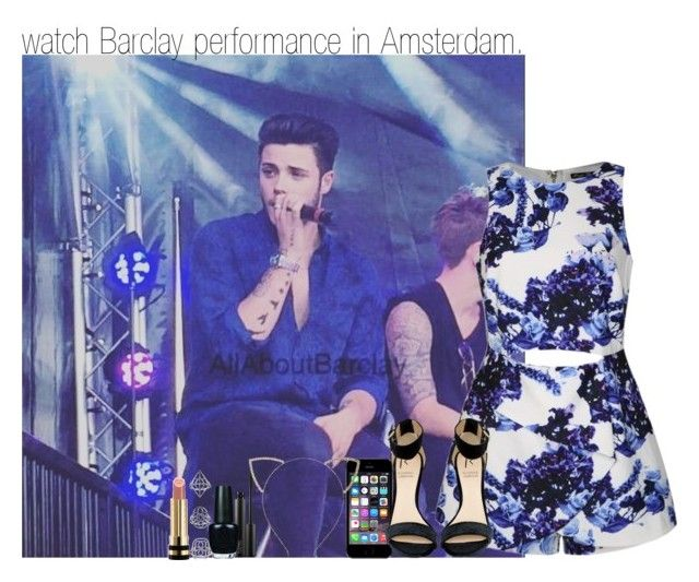 """watch Barclay performance in Amsterdam."" by allfictionlove ❤ liked on Polyvore featuring Ally Fashion, Rihanna For River Island, MAC Cosmetics, OPI, Cara, Topshop and Gucci"