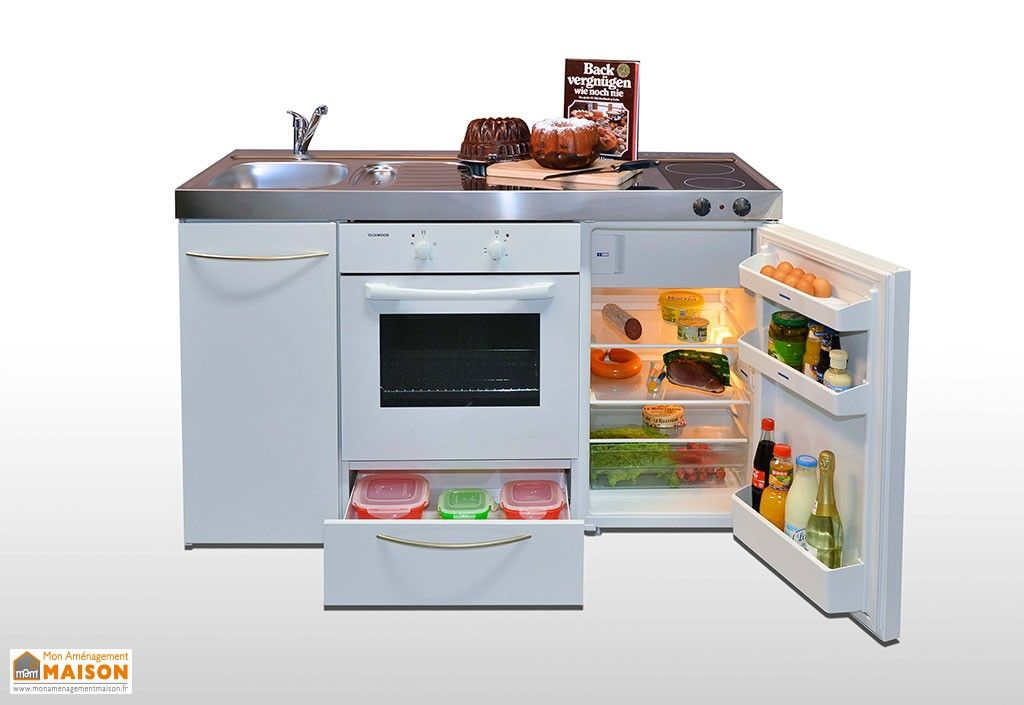 mini cuisine avec frigo four et