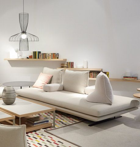 Prado by christian werner ligne roset furniture for Ligne roset canape