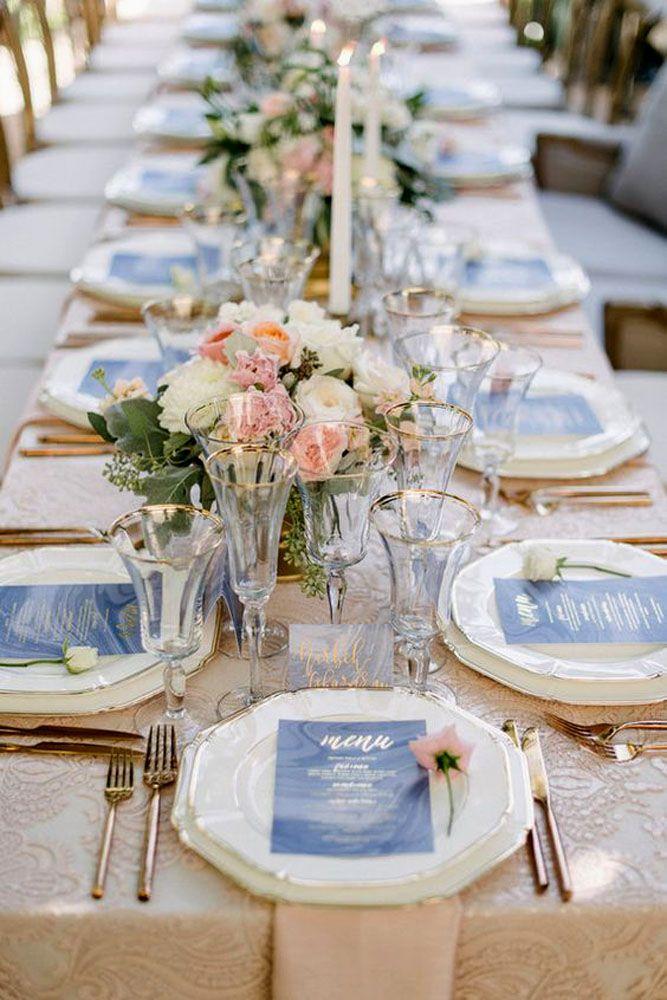 36 Most Pinned Photos In Blue Wedding Theme Decor Pinterest