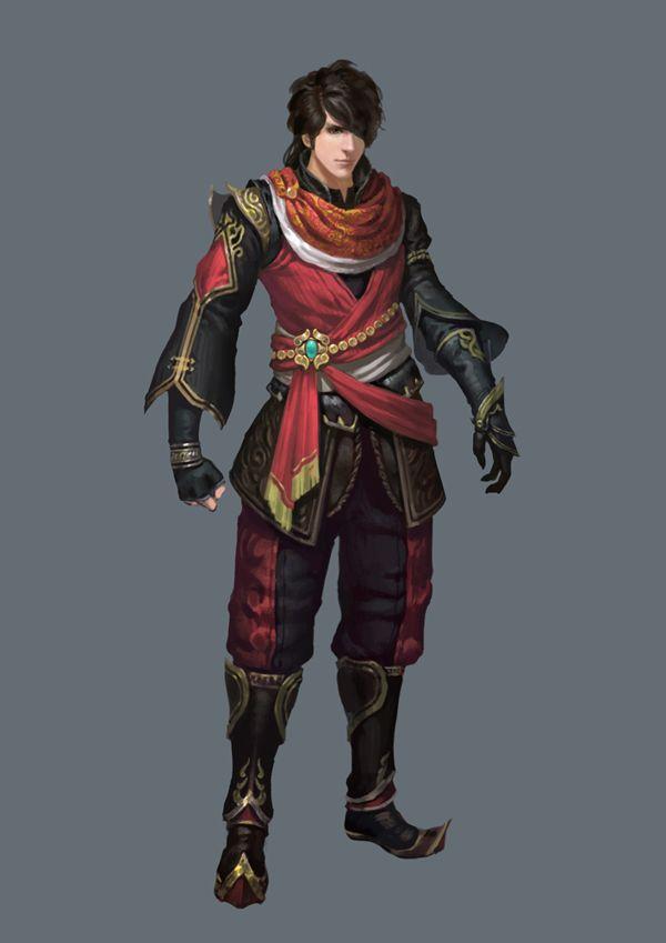 Character Design by YONGWEI SUN, via Behance
