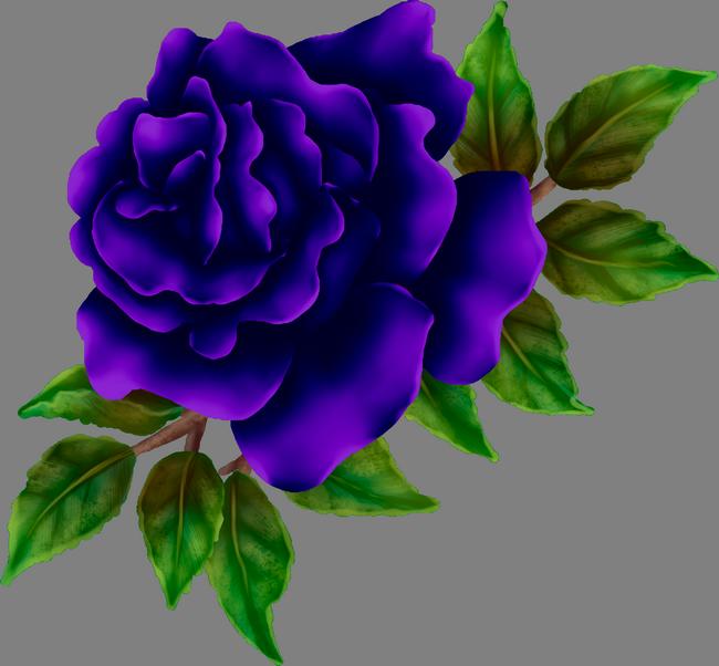 Purple Rose Transparent Png Clip Art Image Rose Clipart Rose Clip Art