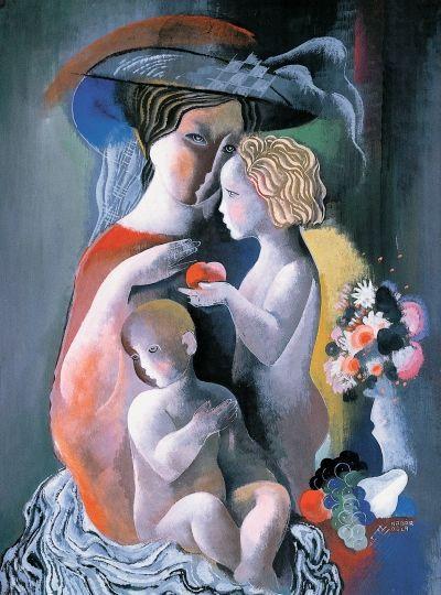 Bela Kadar 1877 1955 Lovers Art Artist Abstract Painters