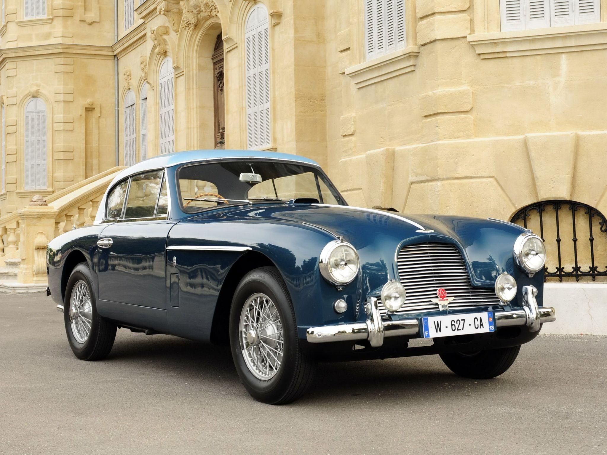 "1955–56 Aston Martin DB2/4 Fixed Head Coupe ""Notchback"" (MkII)"
