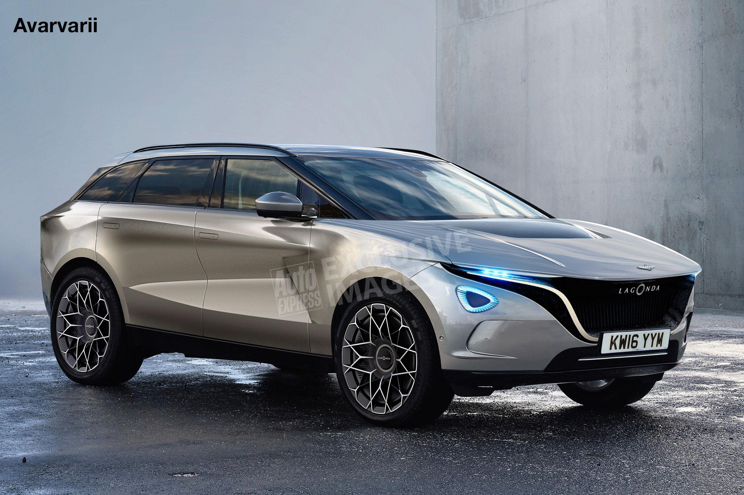 New Lagonda AllTerrain concept previews 2022 luxury SUV