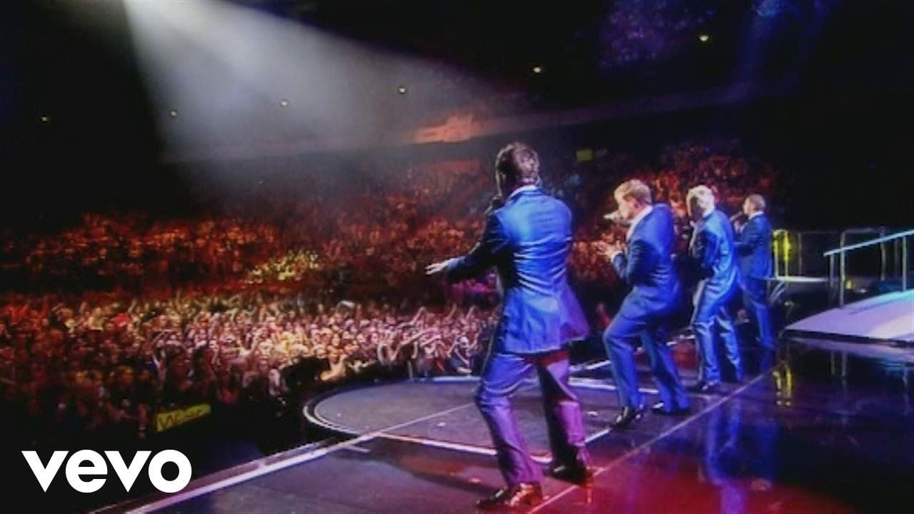 92cc04d4ac Westlife - Medley (Live in Stockholm) - YouTube