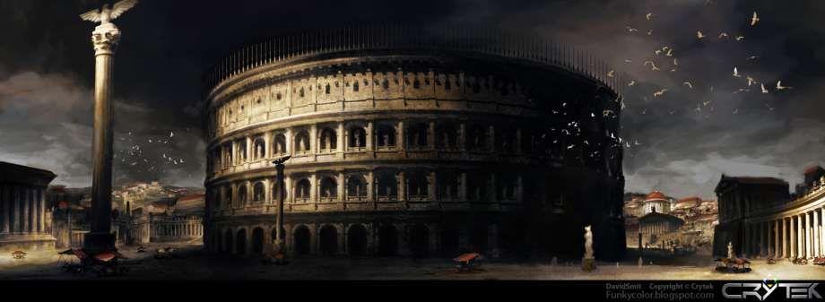 Fantasy Colosseum Concept Art
