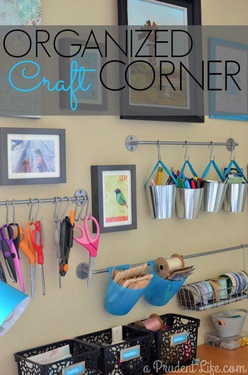 Craft Room Closet Combo