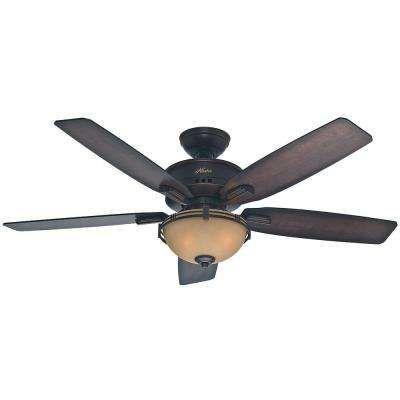 Morris County 52 in. Onyx Bengal Ceiling Fan