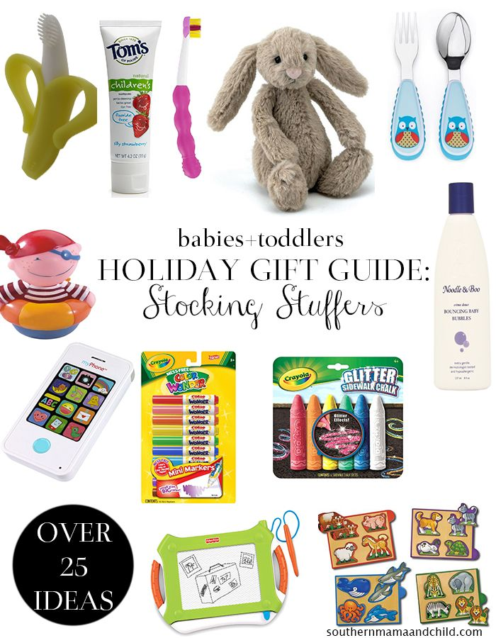 Holiday Gift Guide Babies Toddlers Stocking Stuffer Ideas