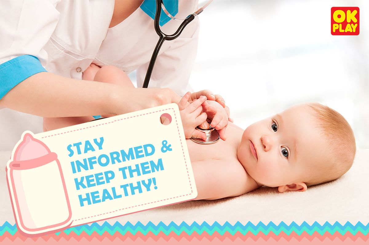 Keeping your baby #healthy & safe is top priority. From colds to fevers, vaccinations to various ailments, receive all the information from OK Play here! - See more at: http://www.okplay.club/  #healthybaby