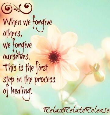Forgiveness quote via www.Facebook.com/RelaxRelateRelease