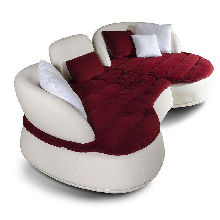 25 modelli di divani curvi dal design particolare divano for Salotti particolari