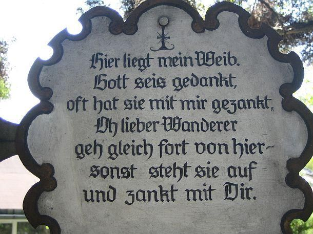 Fresh Kuriose Friedhofstafeln Seite Gartenfreunde Mein sch ner Garten online