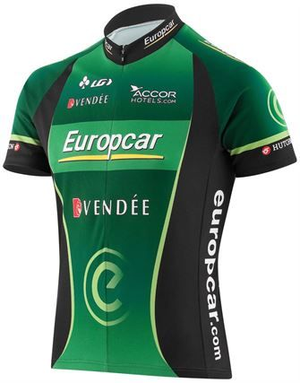 bbf0ca88a Louis Garneau Europcar Replica Jersey 2013 - TourCycling.com ...