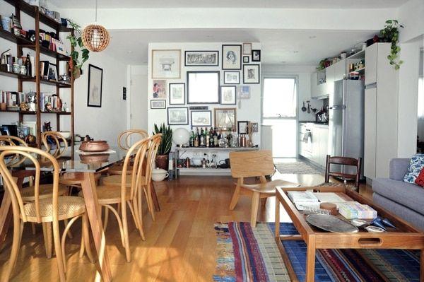 Un departamento con cocina semi integrada Fotos Carlos Alfano/ Para
