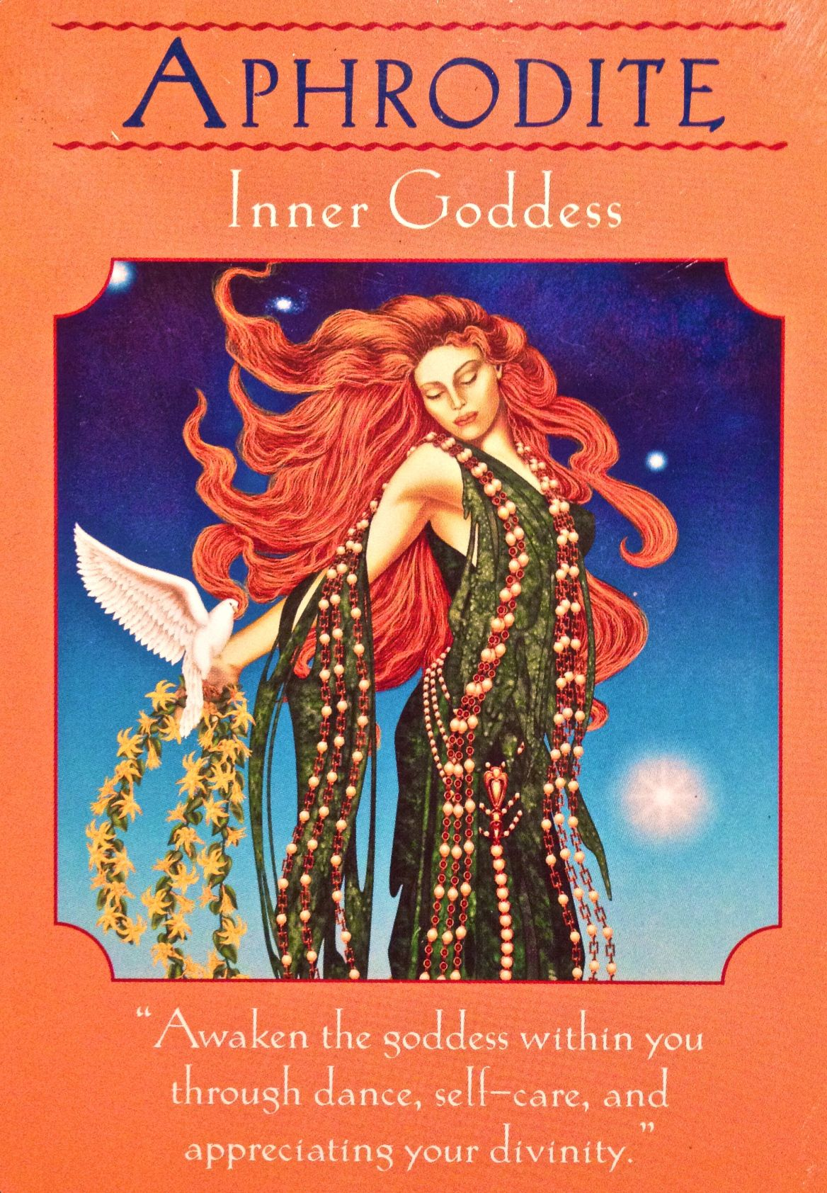 Aphrodite Inner Goddess From The Goddess Guidance Oracle Cards