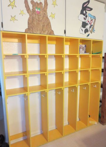 Classroom Cubby Ideas ~ Wooden cubbies for classrooms home daycare small