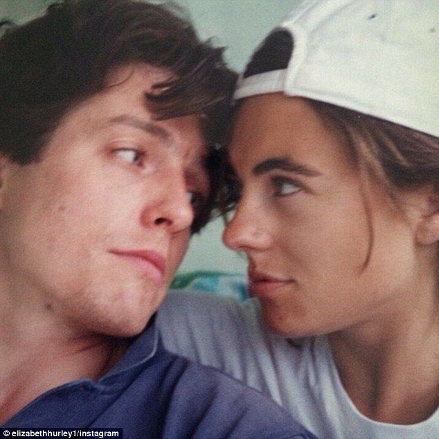 Throwback Thursday: While they may no longer hold a torch for one another, it seems that Elizabeth Hurley is still fond of taking a stroll down memory lane when it comes to her friend, and former boyfriend, Hugh Grant