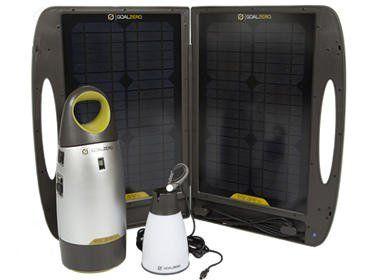 Amazon com: Goal Zero Escape 150 Expedition Kit w/ Solar Panel