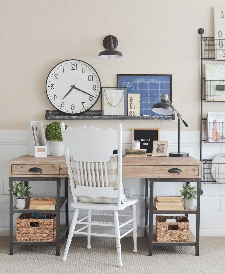 48 Elegant Office Decor Ideas For Small Apartment ...