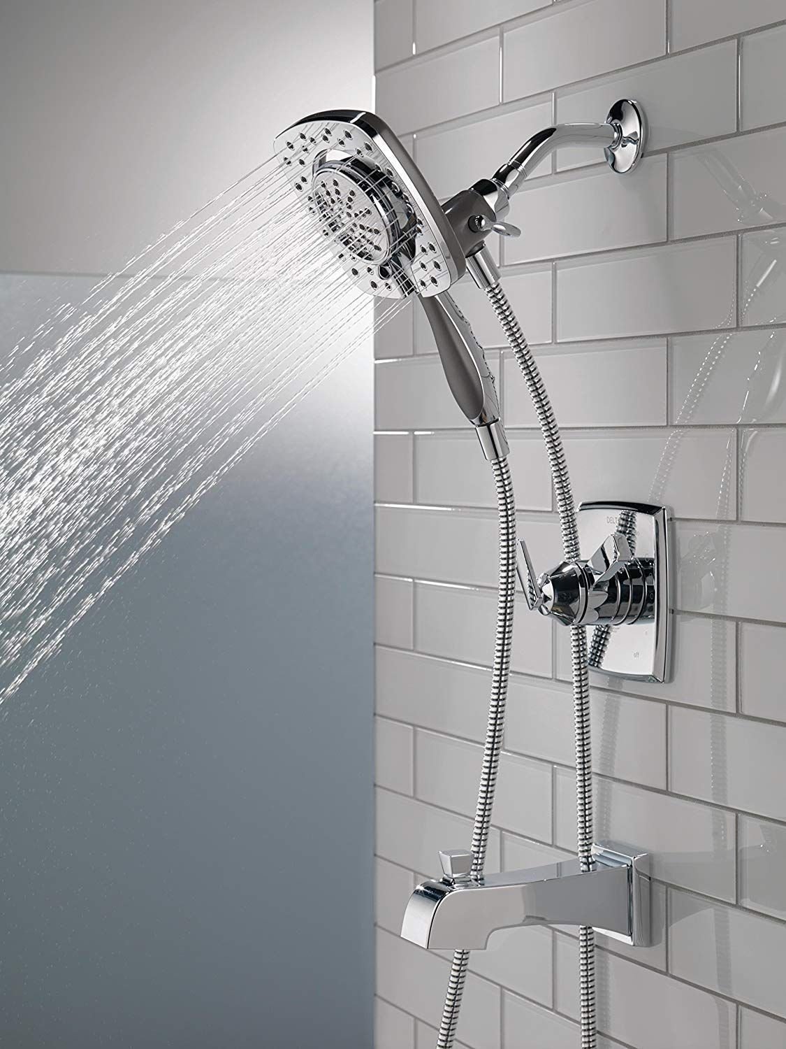 Chrome Has Rapidly Become One Of The Most Popular Finishes Across Decor Styles In The Bath Thanks To Its S Shower Faucet Tub And Shower Faucets Shower Diverter