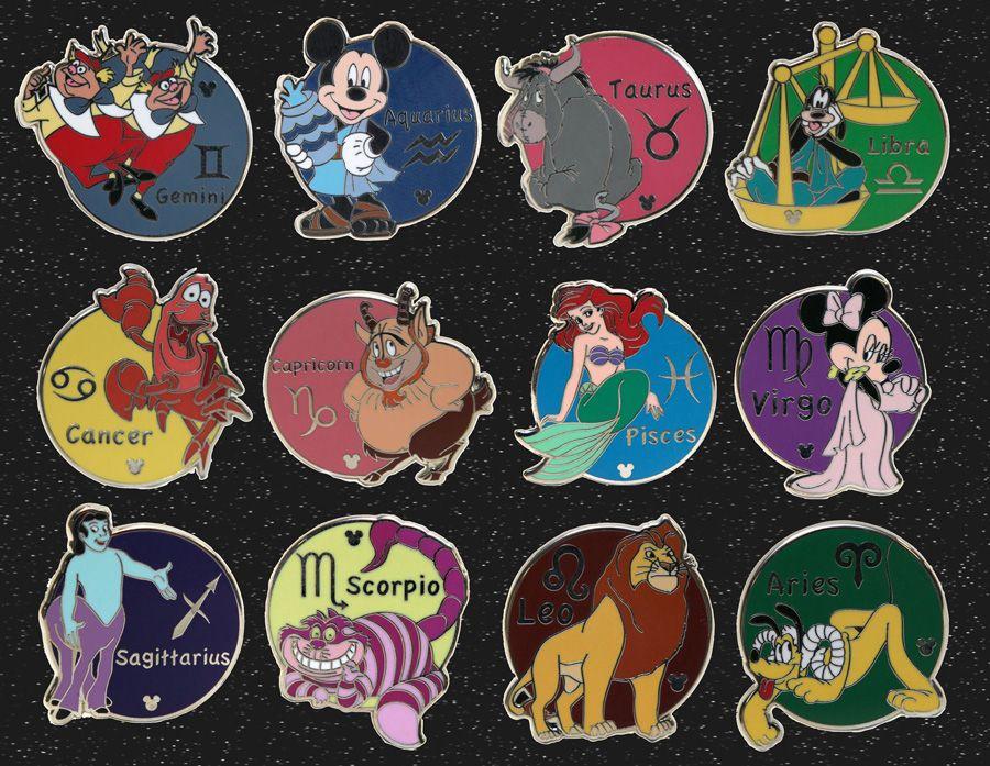 Walt Disney HIDDEN MICKEY EEYORE TAURUS ZODIAC COLLECTOR TRADING Pin Badge