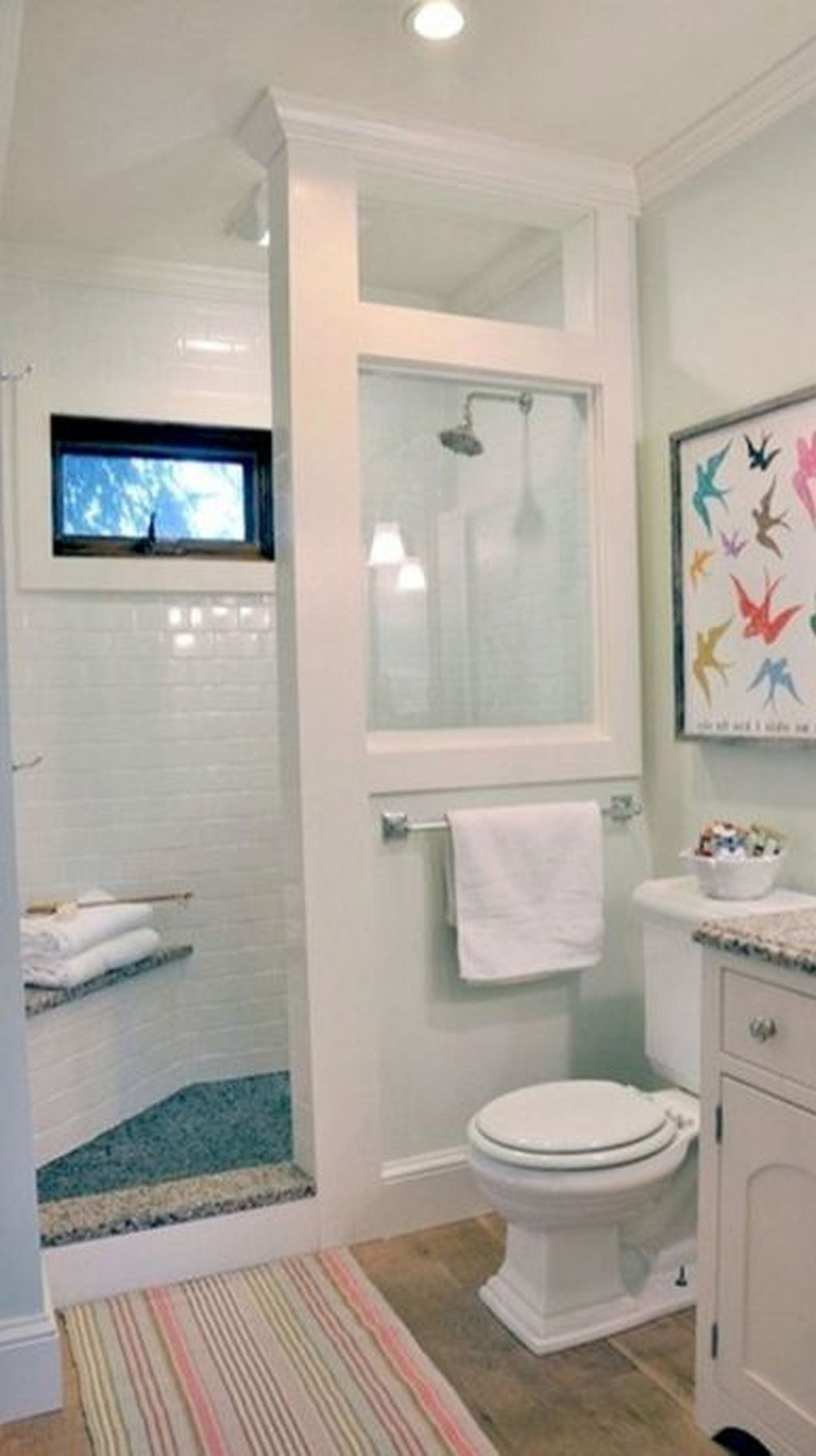 42 Cool Small Bathroom Remodel Ideas Bathroom Shower Design Small Bathroom Small Bathroom Remodel