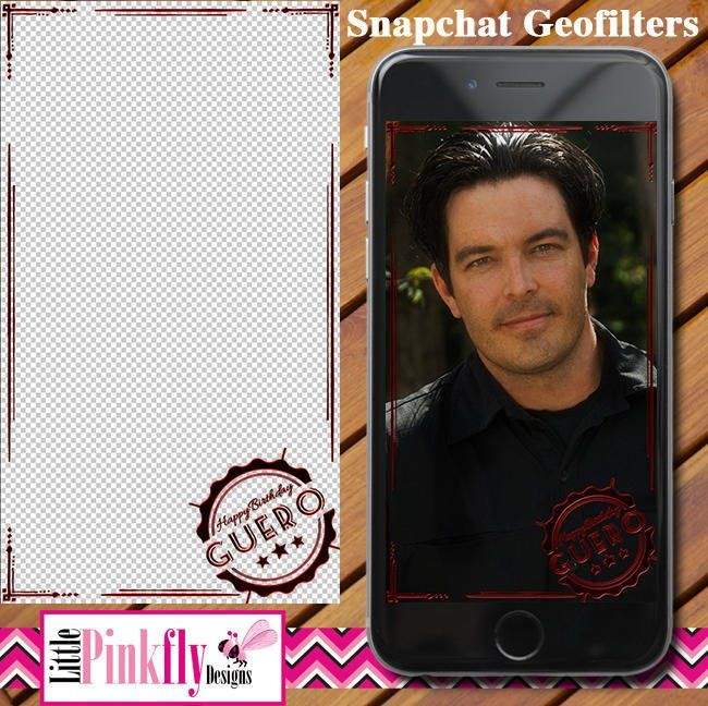 GF-531 Wax Stamp Birthday Glow Snapchat Geofilter, Birthday Geofilter for Guys, Birthday Geofilter for Men, Snapchat Geofilter for men by LittlePinkflyDesigns on Etsy