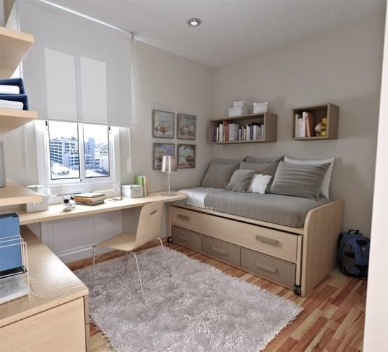 Recamara juvenil hombre 15 jpg 554 503 pixeles beds - Dormitorios juveniles espacios pequenos ...